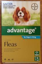 advantage for rabbit fleas