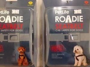 roadie dog car harness