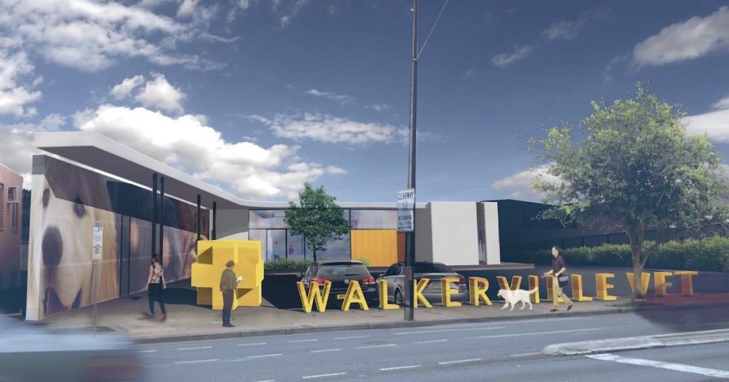 Walkerville vet frontage