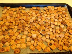 dog treat finished product