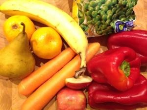fruit and veges