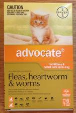 advocate fleas heartworm