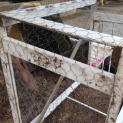 old rabbit hutch