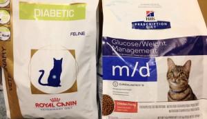 cat diabetic diets