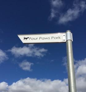 four paws dog park