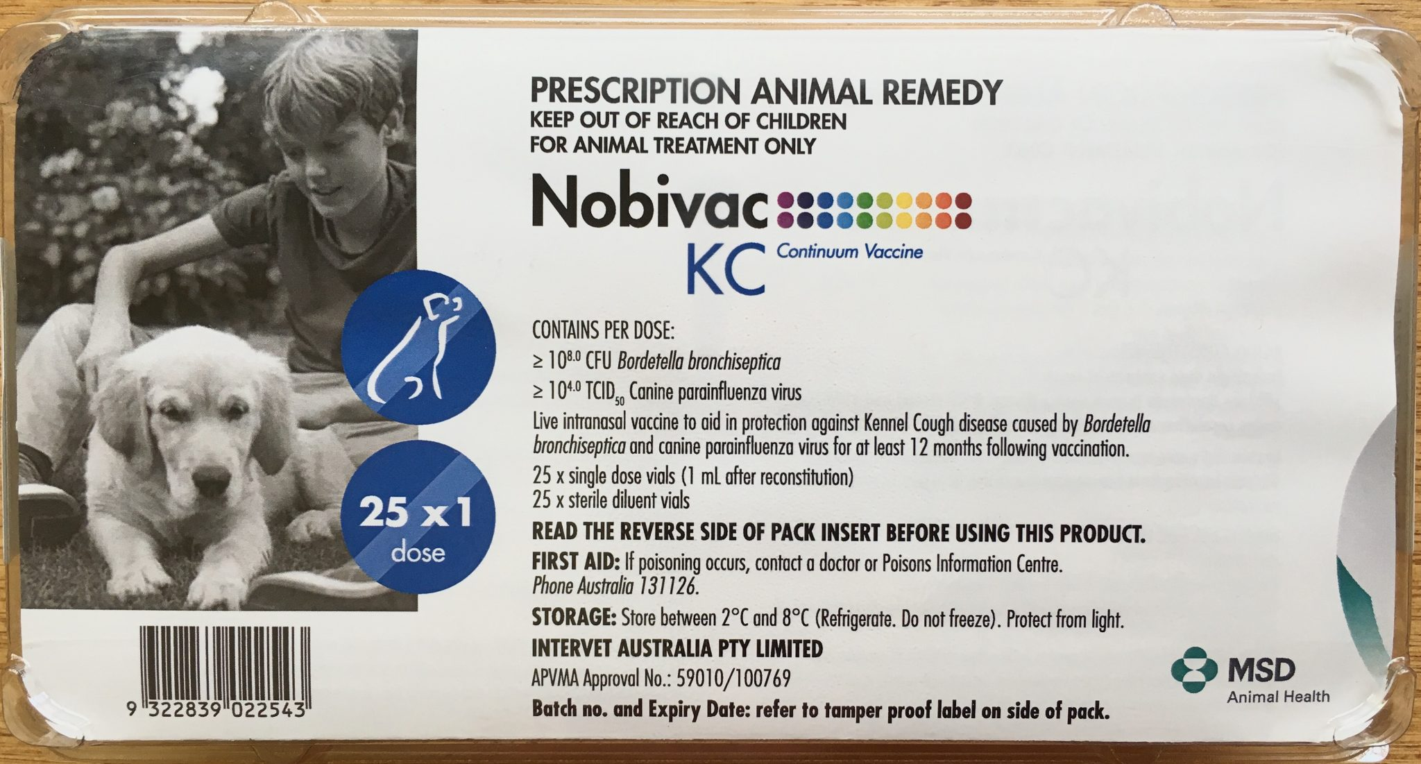 Nobivak for dogs. Recommendations for vaccination of dogs 17