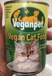 vegan cat diet