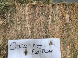 oaten hay bale