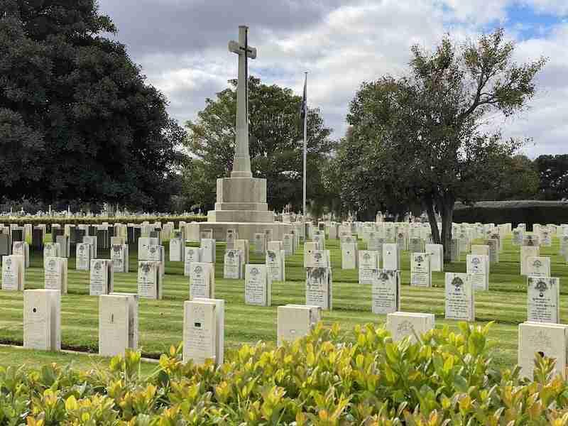 war cemetery adelaide