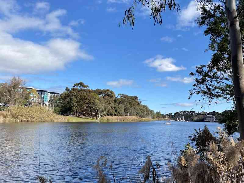 torrens lake adelaide