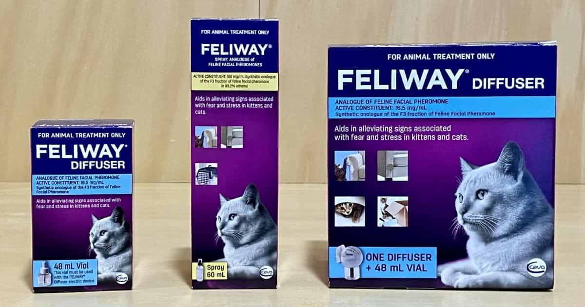 Feliway diffuser spray